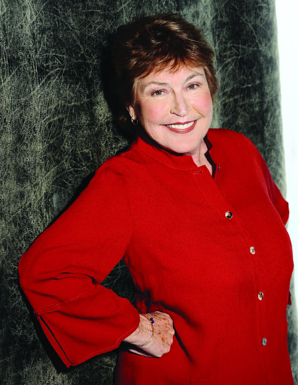 Helen Reddy performs at the Annenberg Theater on Dec. 14.