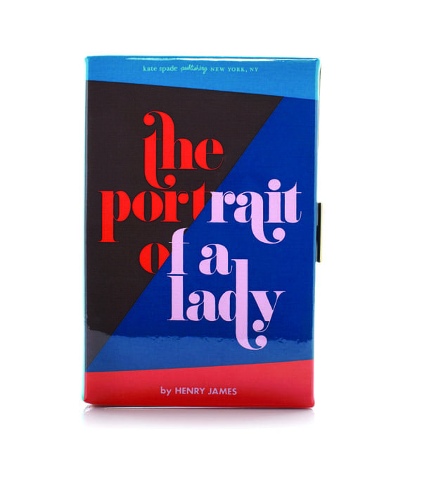 a book clutch from Kate Spade New York
