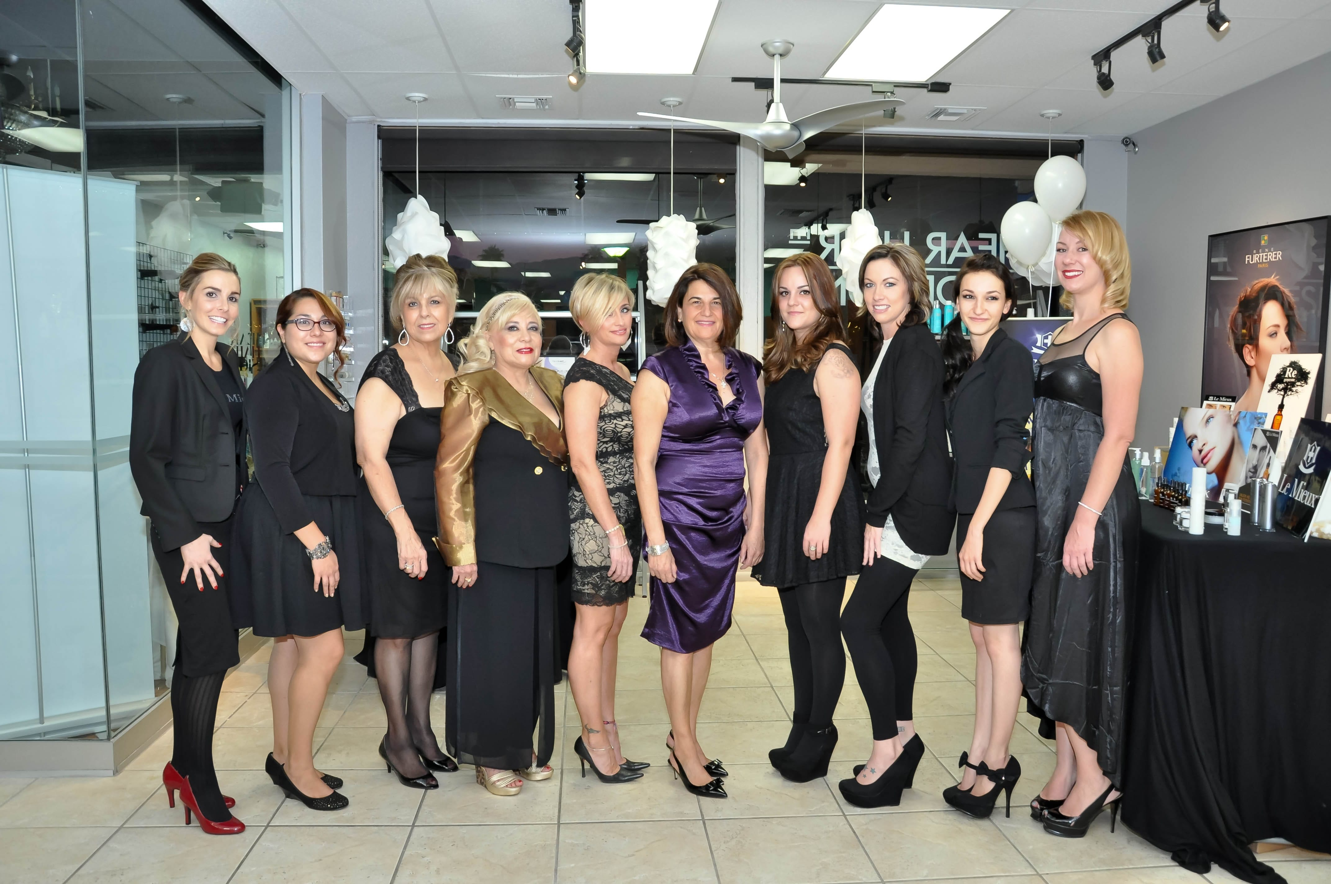 Shear Hair Design El Paseo Celebrates 35th Anniversary with An Evening of Luxury - Nov. 12, 2013