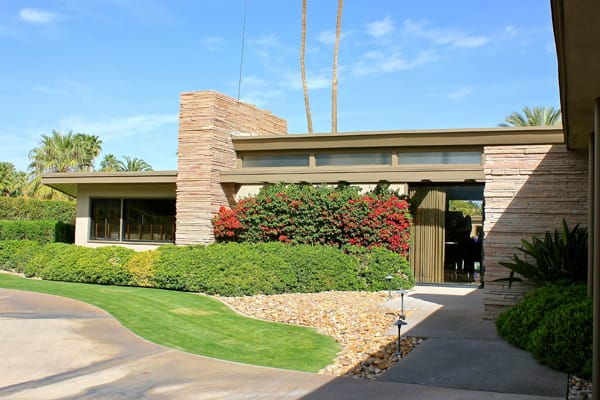 Twin Palms Frank Sinatra View Icon S 1st Palm Springs Home
