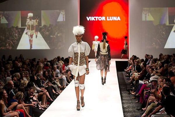 Viktor Luna's path from Guadalahara to Los Angeles was just the first leg of the journey for the FIT trained designer who will, once again, be premiering a new collection during 2014's Fashion Week El Paseo's Project Runway show. Viktor learned about fashion from his mother, a talented seamstress, at the age of 7. His flight to fashion and fame includes a win as finalist on Project Runway, a showing of his Spring 2013 collection at New York Fashion Week, and editorial mention in Elle Mexico, elle.com, French Vogue, the New York Times, Marie Claire, Rolling Stone, and Nylon Mexico.