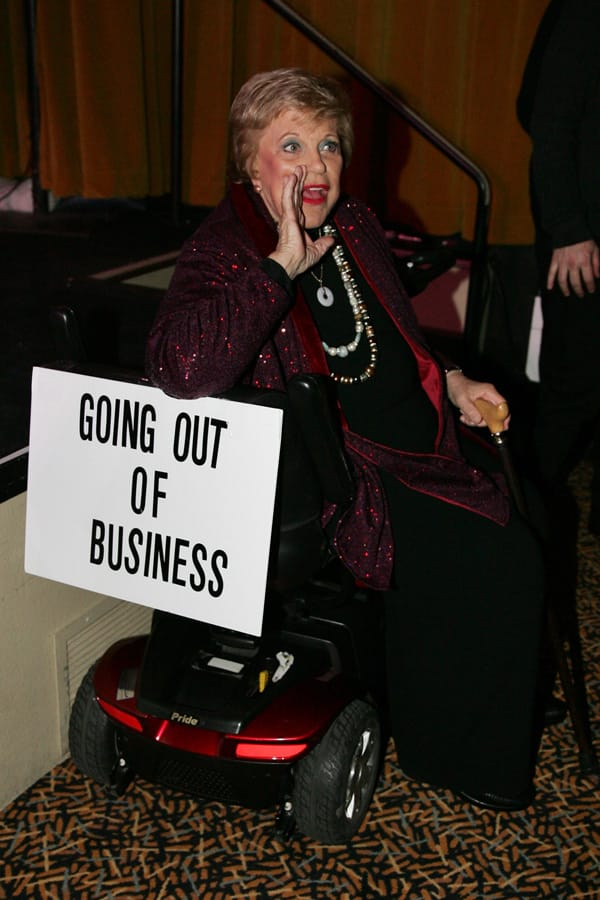 Kaye Ballard's Going Out of Business