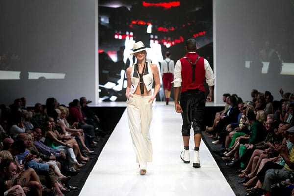 Fashion Week El Paseo Videos And Photos From Octavius Terry Fidm Debut Runway Show March 17 2014