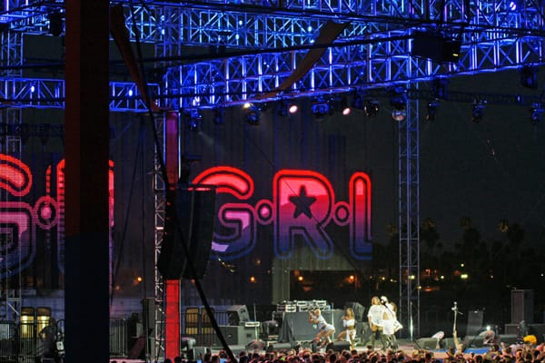 G.R.L. Headlines White Party Palm Springs T-Dance
