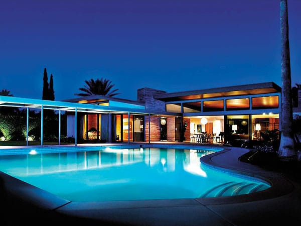 Beau Monde Villas' Twin Palms Frank Sinatra Estate