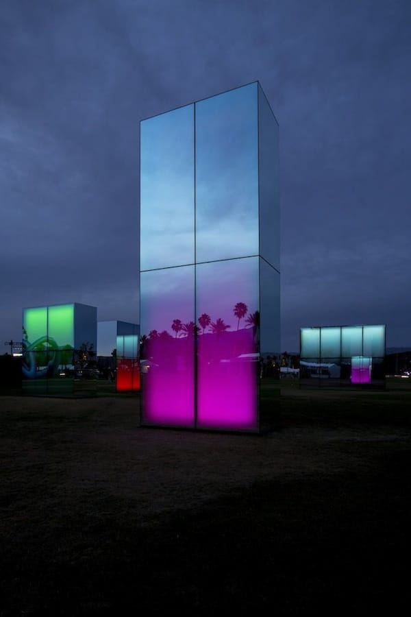 Coachella 'Reflects' Artist Phillip K. Smith's Work