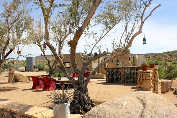 Pair Turn Pipes Canyon Ruin into Outdoor Dining Gem