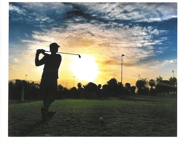 Indio Municipal Golf Course Lights Up the Sky