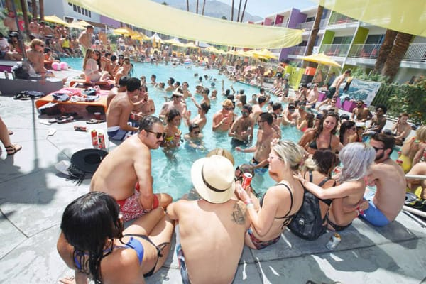 Splash House Ready to Rock Trio of Palm Springs Hotels