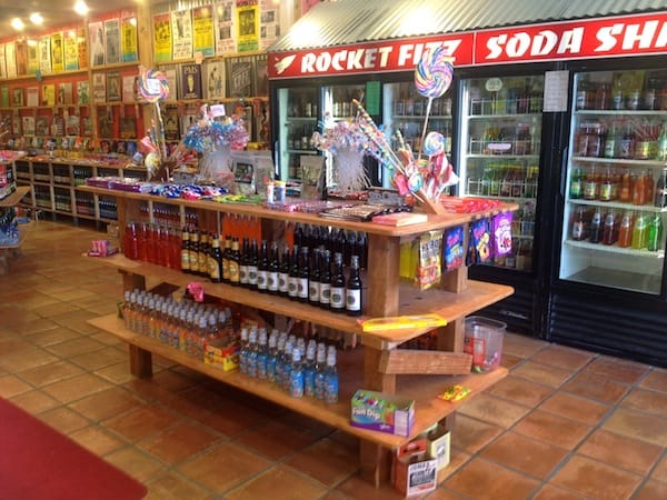 Rocket Fizz Offers Blast From the Past Candy, Soda