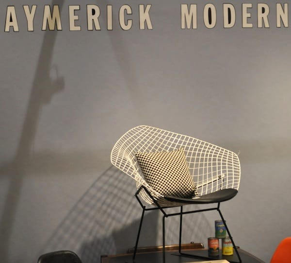A chair from Aymeric Rondean in San Marcos, Calif.