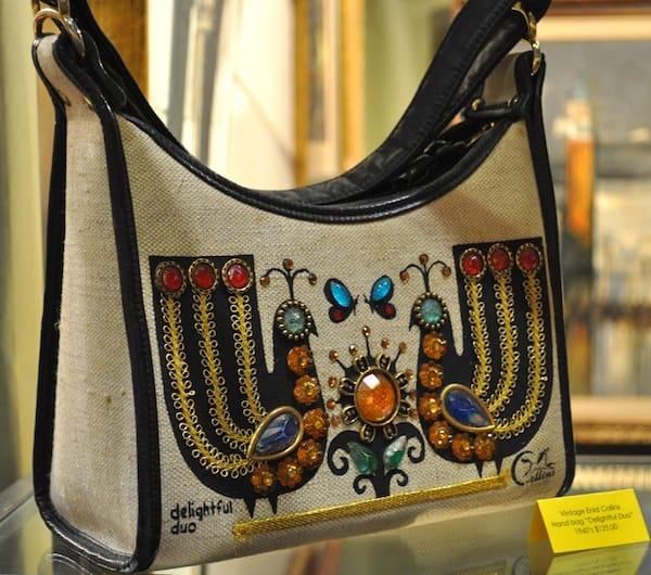 Vintage Enid Collins Handbag, 'Delightful Duo', 1960s.