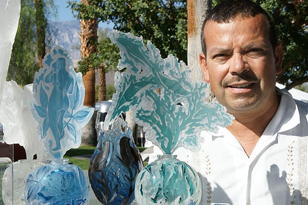 Rancho Mirage Art Affaire Thrills Art and Music Lovers
