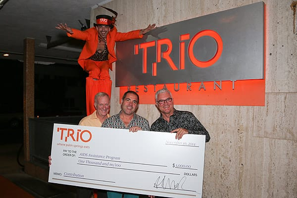 Trio -Where Palm Springs Eats- celebrates the beginning of its sixth year! Nov. 10, 2014