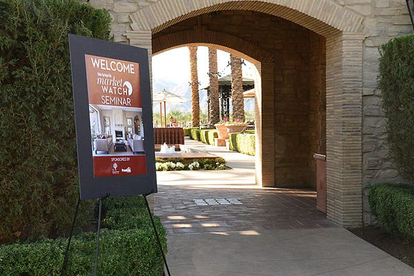 A Tale of Nine Cities Market Watch seminar at Toscana Country Club, Indian Wells Nov. 7, 2014