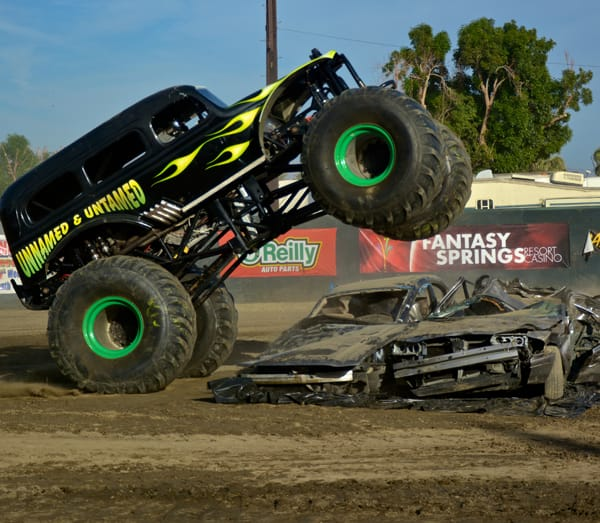 The Demolition Derby is another festival favorite.