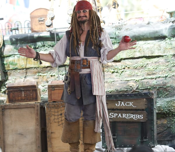 Capt'n Jack Spareribs is just one of the fantastic performers at the Riverside County Fair & National Date Festival.