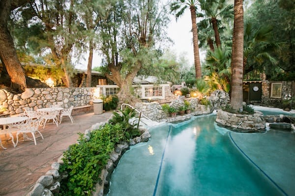 Natural hot springs fill the Grotto with invigorating Artesian water to soothe mind and body.