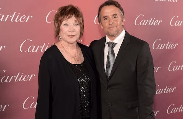 Richard Linklater received the Sonny Bono Visionary Award for Boyhood presented by Shirley MacLaine, who he directed in 'Bernie.'
