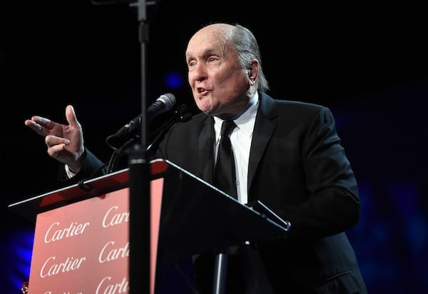 Robert Duvall received the Icon Award for 'The Judge.'