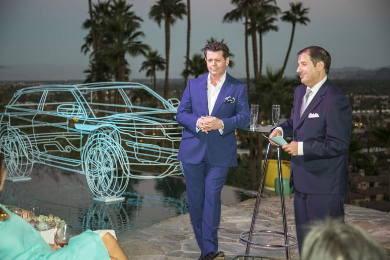 Land Rover Design Director and Chief Creative Officer, Gerry McGovern speaks  about his designs.