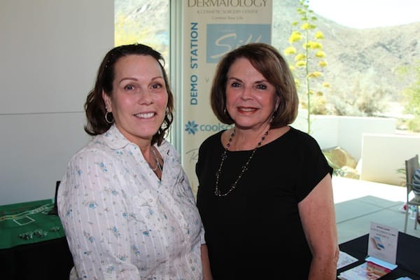 (From left) Beverly Rossi and Cynthia Kuhns.