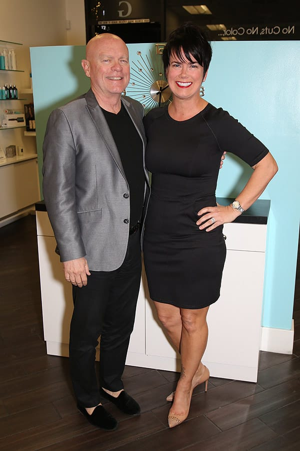 Wink Lash and Beauty Bar and Just Blow Drys kick off Fashion Week - Feb. 25, 2015