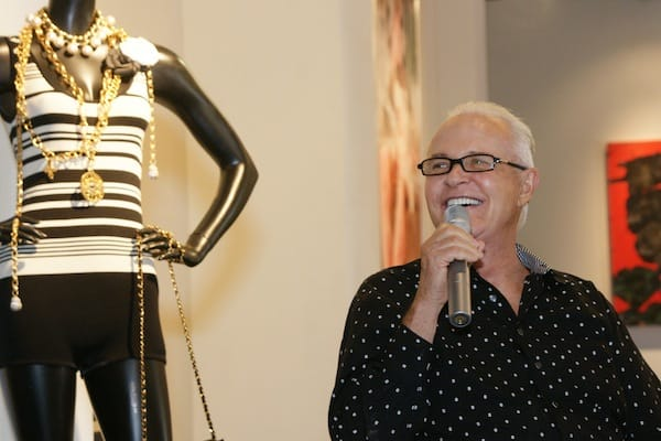 Celebrity photographer Michael Childers moderated the Q&A session with Douglas Kirkland and Donna MacMillan.