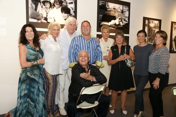 (From left) Francois Kirkland, Melissa Morgan, Douglas Kirkland, Stephen Monkarsh, Michael Childers (seated), Donna MacMillan, Elaine Sigwald, Reina Flynn, and Annie Mainville.