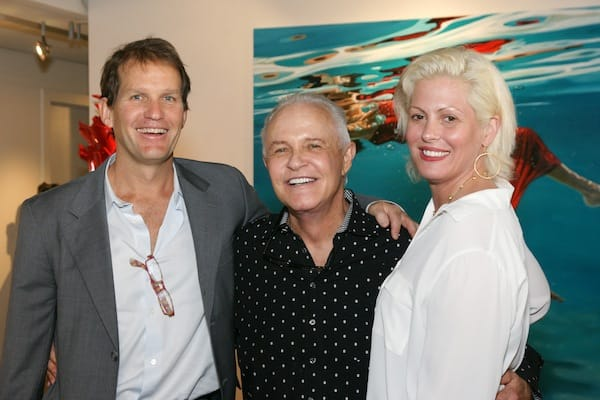 (From left) Palm Springs Life Publisher Frank Jones, Michael Childers, and Melissa Morgan.