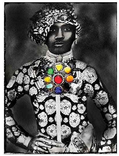 A memorable piece of art such as <i>Jana's Maharaja</i>, a photograph by the artist Alexandra Penney, which I showed at the modernism show this year.