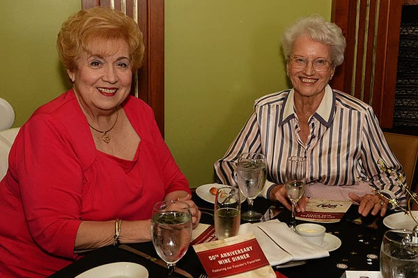 Ruth's Chris Steak House 50th Anniversary Dinner - June 11, 2015
