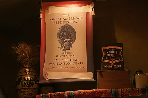 Babe's Bar-B-Que and Brewhouse named 2015 Brewery of the Year - Sept. 14, 2015