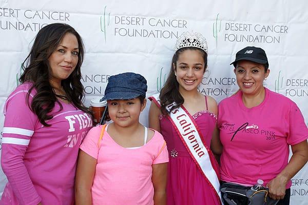 Paint El Paseo Pink Benefits Desert Cancer Foundation - Oct. 10, 2015