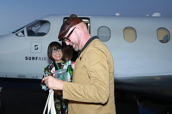 Surf Air Celebrates New Palm Springs Arrival - Nov. 5, 2015