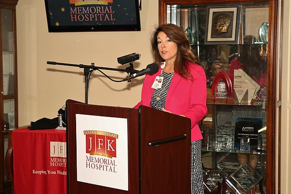JFK Memorial Hospital Announces New Achievement - Oct. 23, 2015