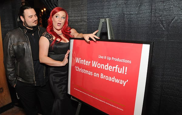 Christmas on Broadway Dinner Show - Dec. 7th, 2015