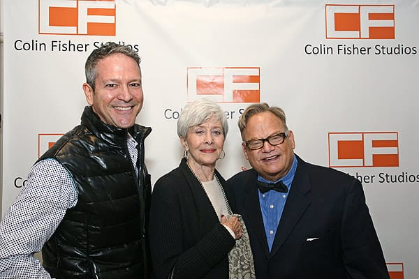 Colin Fisher Studios Draws Record Crowd for Art Opening - Jan. 8, 2016
