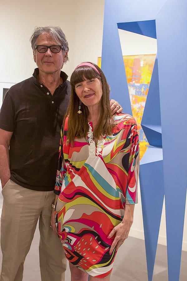 Featured artist Robert Gamblin at MODERN Reception at Brian Marki Fine Art - Feb. 12, 2016