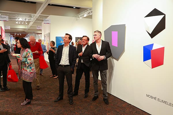 Palm Springs Fine Art Fair Opening Night Preview - Feb. 11, 2016