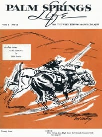 Palm Springs Life magazine Mach 30 1958