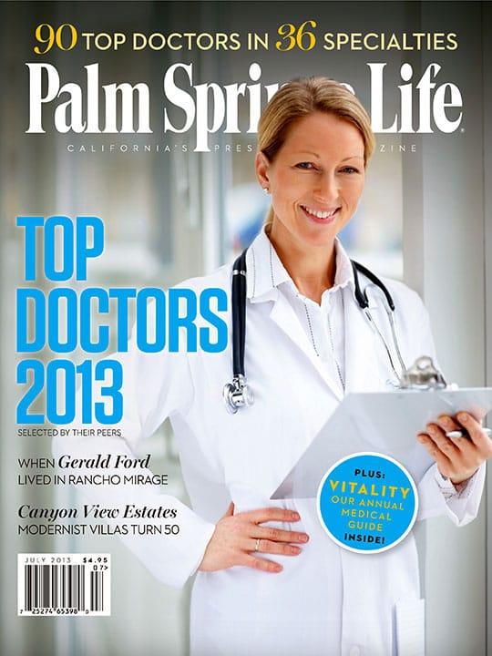 Palm Springs Life magazine - July 2013