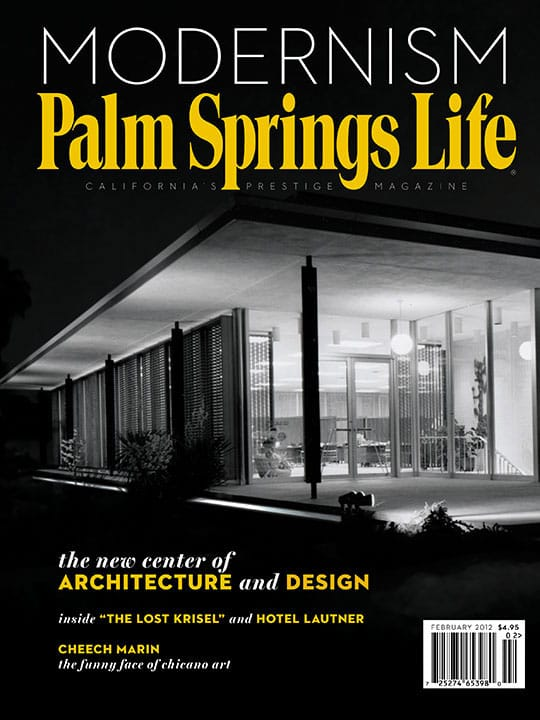 Palm Springs Life magazine - February 2012
