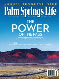 Palm Springs Life magazine - October 2011