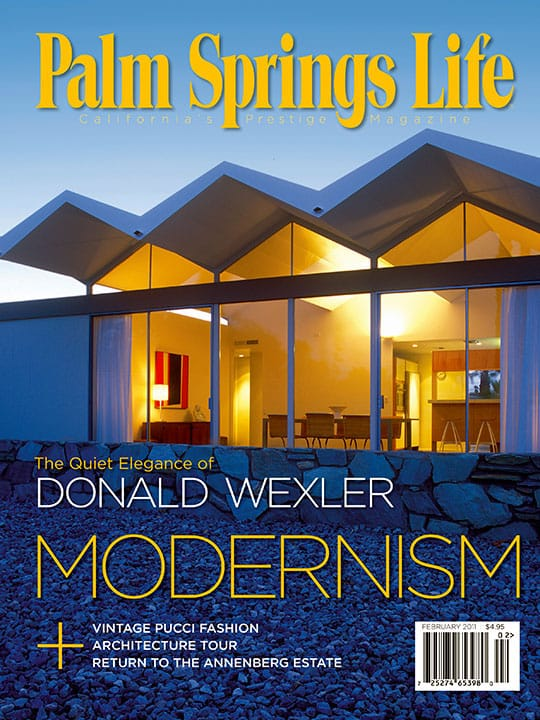 Palm Springs Life magazine - February 2011