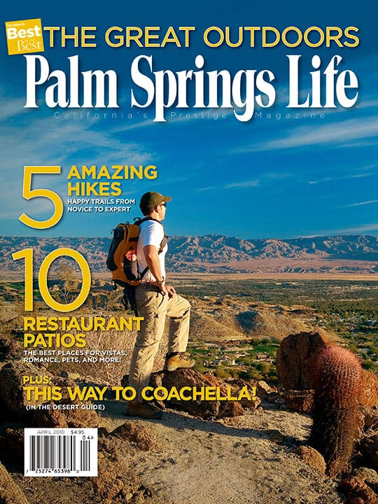 Palm Springs Life magazine - April 2010