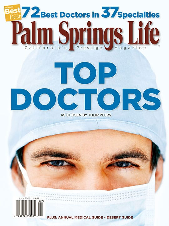 Palm Springs Life magazine - July 2009