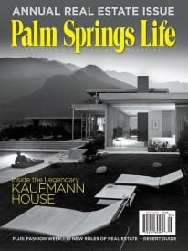 Palm Springs Life magazine - May 2009