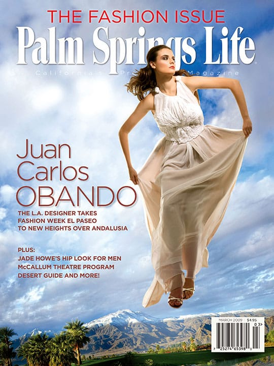 Palm Springs Life magazine - March 2009