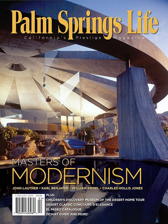 Palm Springs Life magazine - February 2009